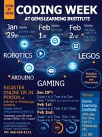 Coding Week at GEMS for kids