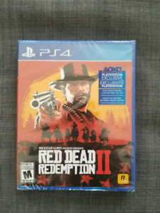 Brand New PS4 Red Dead Redemption 2
