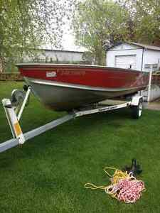 2001 Lund SSV-16 16  15hp Yamaha 4 stroke **Priced to SELL**