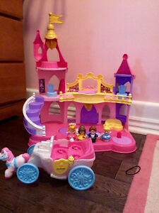 Little People Princess Castle with Carriage