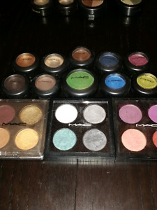 MAC makeup eyeshadow Lot - palettes singles