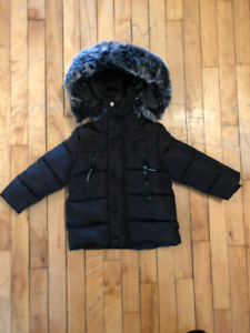 BOYS  BLACK COAT - size 24 month