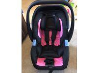 Recaro privia baby car seat