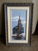 BEAUTIFUL OIL PAINTING by french artist SIMON GAUTHIER  W14in x