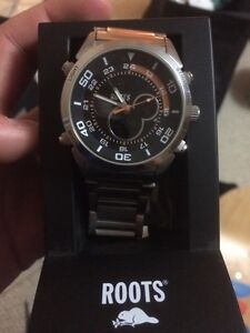 Roots Stainless steel watch