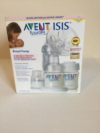 Avent breast pump and extra bottles