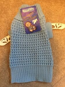 Small Blue dog sweater