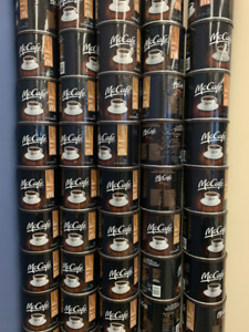 FREE - Empty coffee cans for garage storage or crafts