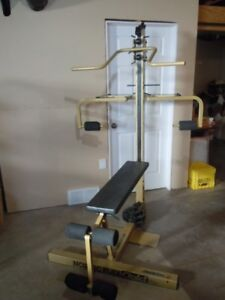 NordicFlex Gold home gym / full body work out / Used  six months