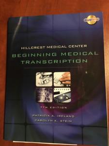 1-BEGINNING MEDICAL TRANSCRIPTION- Hillcrest medical centre