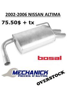 Muffler Nissan Altima 2002-2006 Bosal Silencieux