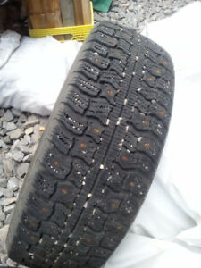 175/65R14 Semperit Ice Grip 2 Studded with Multi Fit Rims