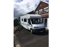 2 Birth Luxury Motorhome Fiat Bessacarr E645 Esprit low miles new mOT