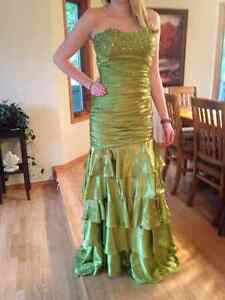 Graduation/Prom/Bridesmaid/Party mermaid/ fit and flare dress