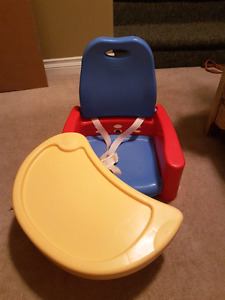 Safety booster chair