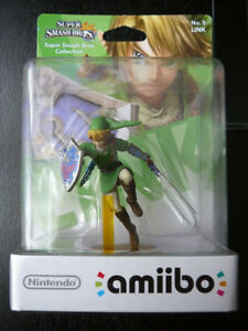 Link Amiibo new in box (Smash Bros.)