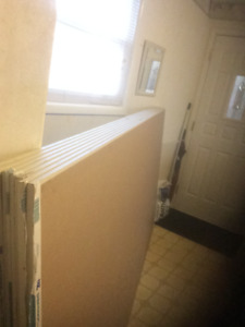 New Drywal, and New Baseboard for sale!!