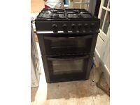 Black logik free standing gas cooker