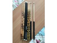 Assorted drumsticks £25 (all together not each)