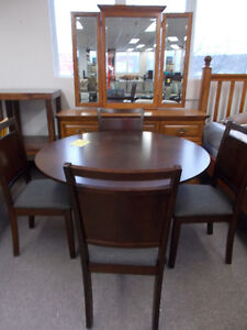 Great selection of NEW table and chair sets. $399 and up.
