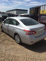 Parting out this 2015 Nissan Sentra