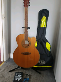 Tanglewood Electro-acoustic guitar and extras