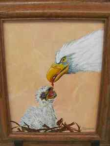 Acrylic Painting, for sale by artist. Eagle