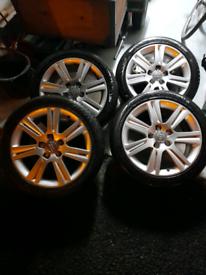 "17"" Audi SE Alloys 5x112"