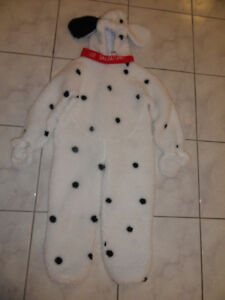 DISNEY STORE 102 DALMATIAN DOG HALLOWEEN COSTUME