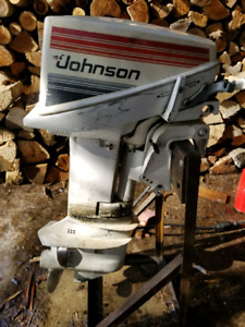 Johnson 9.9HP Outboard Boat Motor