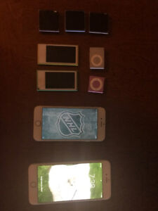 IPHONES 6 & 6PLUS & IPODS &SHUFFLE & FITBIT
