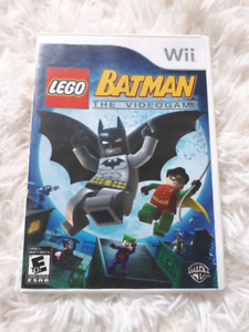Wii lego batman game