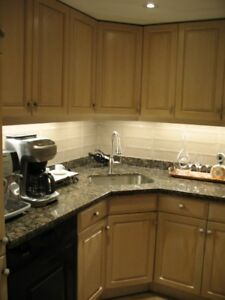 BLEACHED OAK CABINETS -KITCHEN FOR SALE