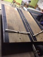 2 place snowmobile trailer for sale