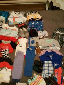 Lot vêtements bebe garcon  50 ainea morceaux