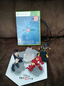 Xbox360 game and figures for infinity