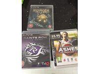 3 X PS3 games