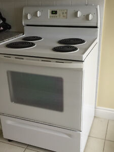 Whirlpool Range, also Refrigerator and Over-the-Range Microwave