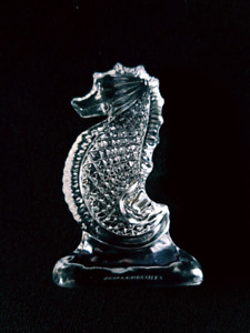 WATERFORD CRYSTAL SEAHORSE - sale price WAS $40 NOW  $30