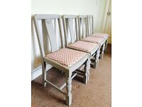 Open to offers on these four dining chairs