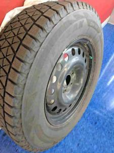 Blizzak Winter tires and rims for 2017 ford explorer ltd.