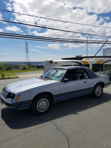 1983 Ford Mustang 6cyl Convertible