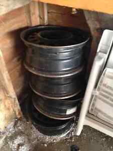 set of 4 Chevy Impala rims (GM made parts)