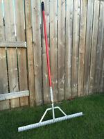 Landscaping rake