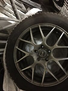 BMW winter rims and tires