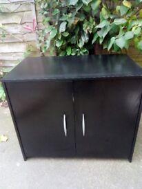 Black sideboard/ computer desk
