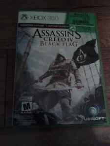 Jeux de xbox 360 ,Assasin's creed Black flag