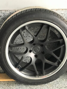 "20"" Custom Niche Rims & Toyo Proxes ST Tires"