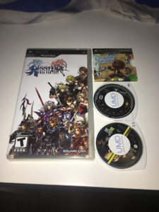 PSP- Dissidia Final Fantasy and games for sale- $20 OBO