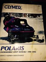 Polaris snowmobile manual